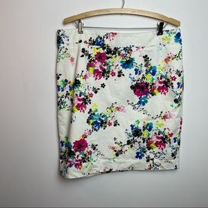 JESSICA FLORAL SKIRT SIZE 14
